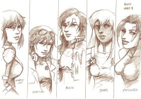 X-WOMEN by Mightyfox-Rixou