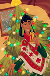 Disney Winter Fashion Contest: Merry Kuz-mas! by Wickfield