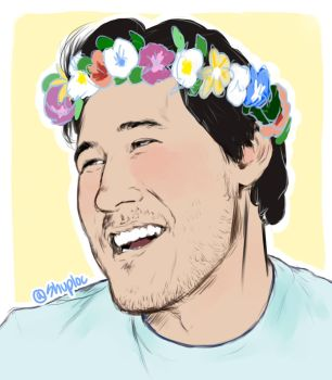 Flower Crown (Markiplier) by Shuploc