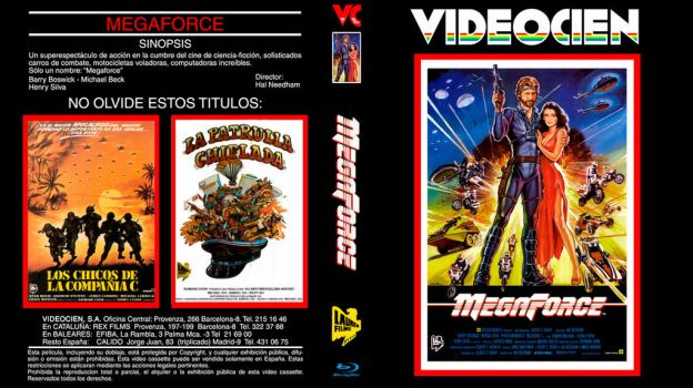 MegaForce (BD-VHS Custom Cover) by repopo
