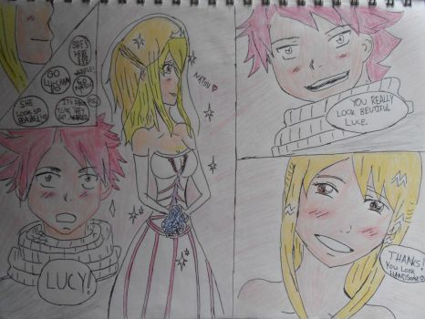 Nalu wedding by Akishe-chan