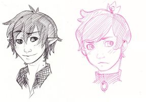 Candy Prince and Vampire King by RadSham