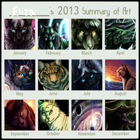 2013 Progression by eliza1star