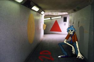 Subway Alley 2D by thefluffyshrimp