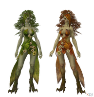 Bless - Dryad by Bringess