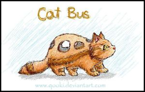 Cat bus by QooKi