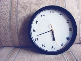 japanese clock by Asian-Green-Cake