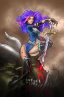 Dragon Slayer Rhea Colours II by nahp75