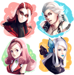 The King of Fighters' castoffs by ERDJIE