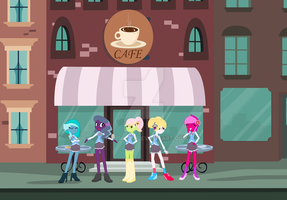 EQG Flashback collage students by housin123