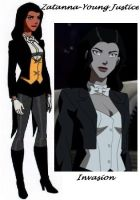 Zatanna Young Justice by nhrynchuk