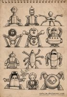 ROBOTZ Concepts 4 by radu-jm by Robot-drawing-club