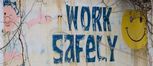 old work safely sign by Dom410