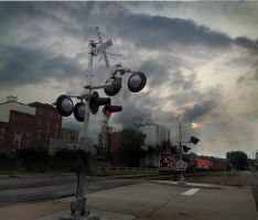 Railroad Crossing~Red Wing MN by richardcgreen