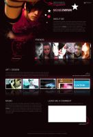 Myspace Layout by weyforth