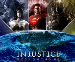 Injustice Gods Among Us WP 2 by dirtscan