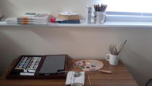 My work space! by blackice940