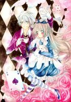 Alice and Madhatter by Kyatto-san