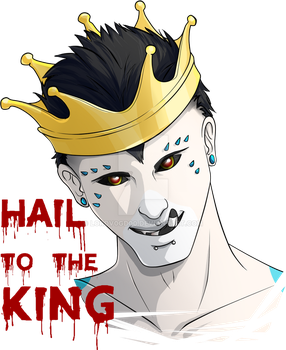 Hail to the king by LordV0GD00