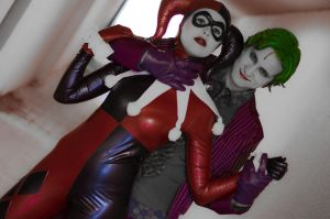 Harley and Joker by Taemi-Chan