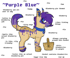 +Blueberry Pie Pup Adoptable! {Closed}+ by GeXeHeNNa