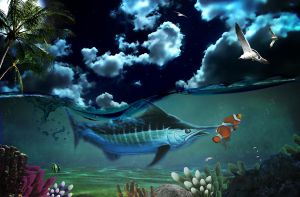 Marlin Fishing by LG-Design