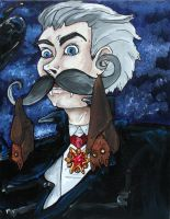 Why Dracula shaves by CaptainDunkenstein