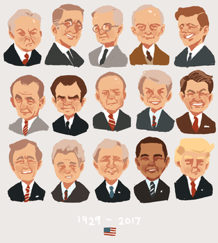 presidents by chiclecosmos