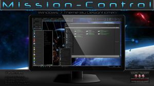 Mission-Control Theme for Win7 By Designfjotten by Designfjotten