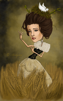 Imogen Heap Caricature by Andymy