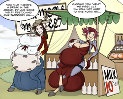 Milky Marketplace by RiddleAugust
