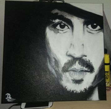 Acrylic Johnny by avil3e