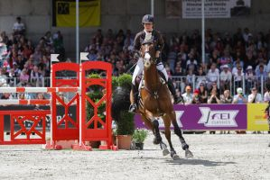 3DE Show Jumping Phase Stock 17 by LuDa-Stock