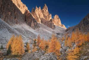 Autumn in Dolomites by JiriStransky