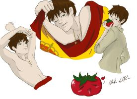 APH Spain Doodles by Carigwen
