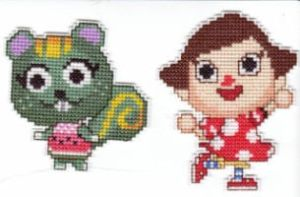 Animal Crossing Cross Stitch by Krissay20
