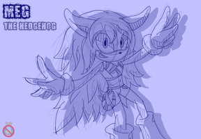 CM: Meg the hedgehog Sonic Channel by shadowhatesomochao