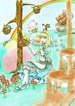 Alice in Sweetsland by lachesis108