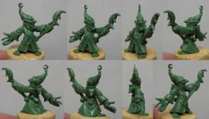 GOBLIN WIZARD - Willy Miniatures by Serg-Natos