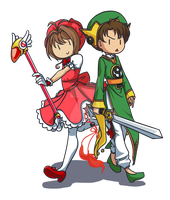 Card Captors by Asparagusunited