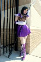 Sailor Saturn Cosplay by SoraTheDemon
