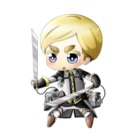 Commission: Chibi Erwin by nkein