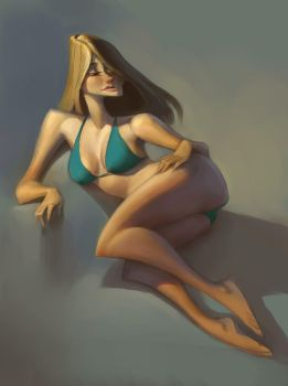 Life Drawing by Artsammich