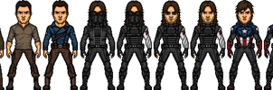 Bucky Barnes by BAILEY2088