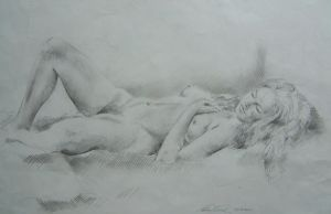 Nude Lying8 by neils40