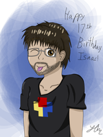 Happy Birthday Isaac! by LAngel2