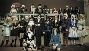 Black Butler Group Photo by SpectralPony