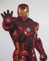 Ironman 2 by Papergizmo
