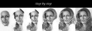 step by step-hair by jojokersina