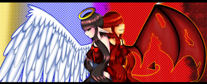 Angel And Demon by FantasyLinky